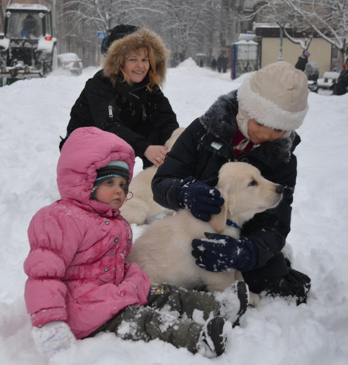снегом со знакомство первое