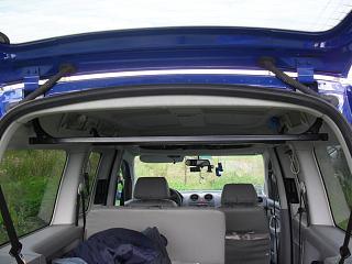 Крепления для  грузов под потолком (Багажник под крышу)-sdc17012.jpg