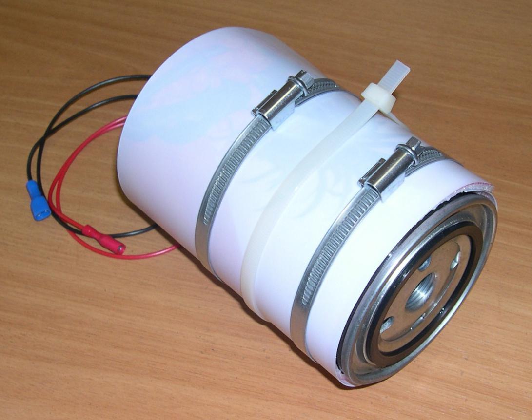 Подогрев фильтра дизельного топлива своими руками