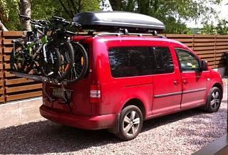 Велобагажник на заднюю дверь.-car.jpg