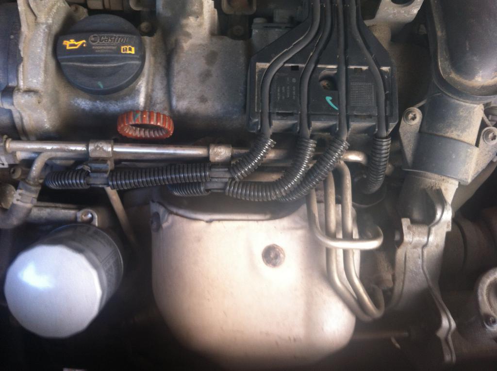 фото замена высоковольтных проводов на volkswagen