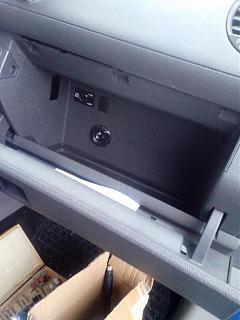 Замена (установка) бардачка от VW Caddy Life 2011-2012гг.-img_20160924_090538.jpg